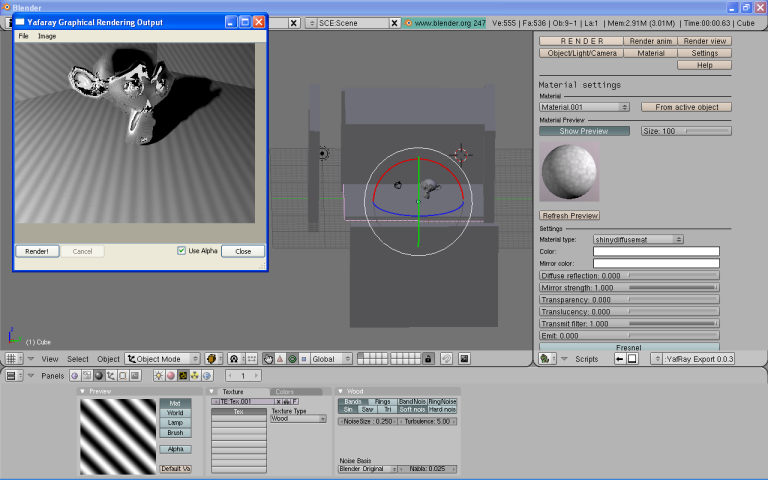 Blender vudeo editing